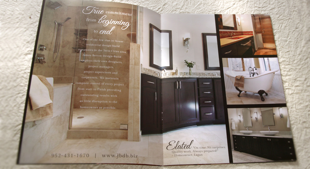 Marketing Brochure James Barton Design Build Inc.
