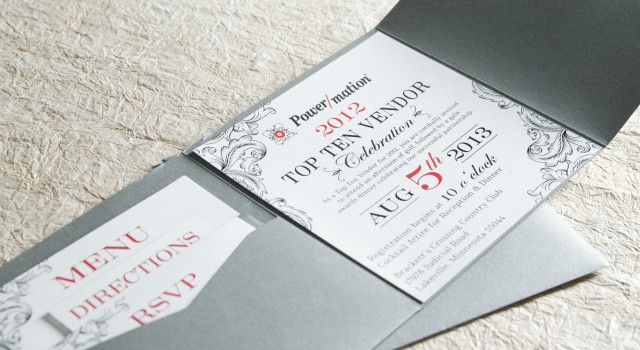 event invitation design power mation ensemble creative