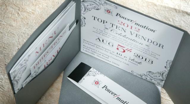 Event Invitation Design Power/Mation