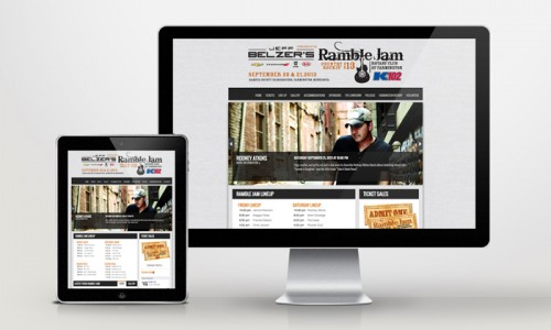 Website Development Ramble Jam, Farmington, MN