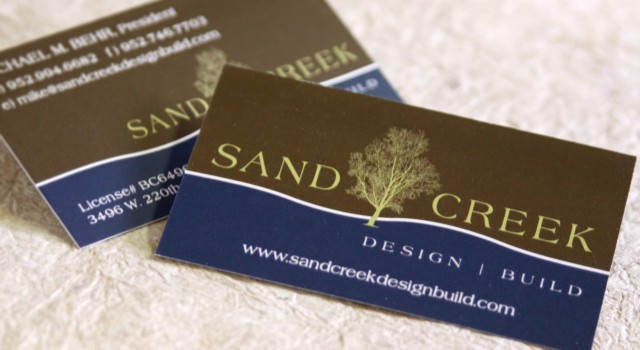 Branding – Sand Creek Design Build