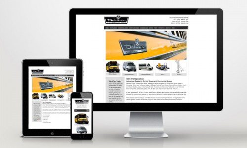 Bus Transportation Website