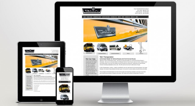 Web Development Lakeville Telin Transportation Group