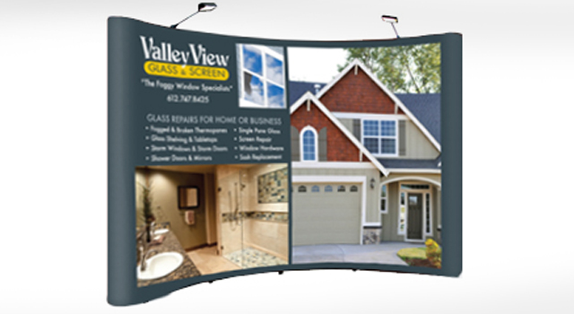 Trade Show Display Valley View Glass