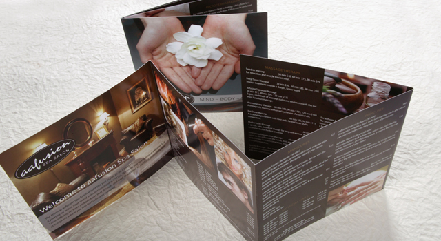 Marketing Brochure Spa Salon