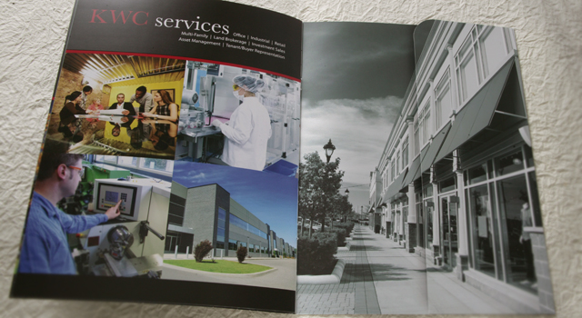 Brochure Design KW Commercial