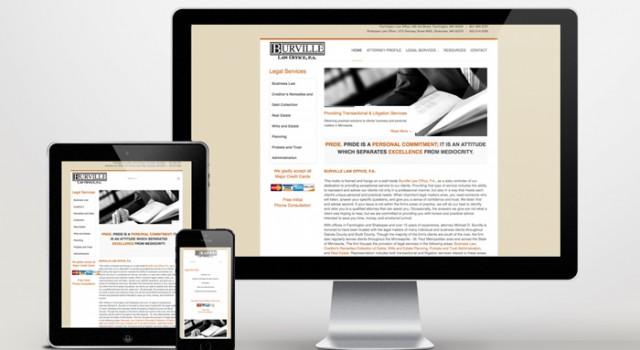 Website Development Burville Law