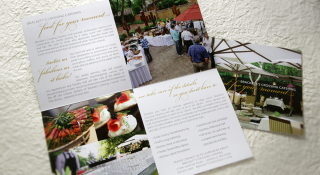 Direct Mail Advertising for Catering