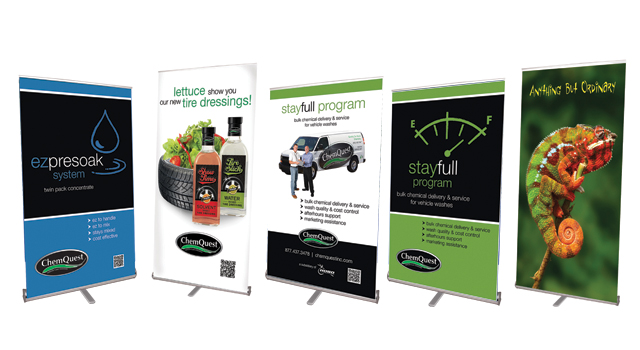 Trade Show Displays ChemQuest
