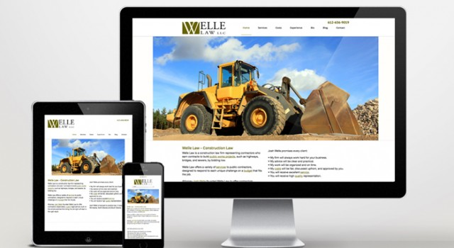 Website Development Welle Law
