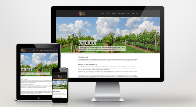 Cannon River Winery Website