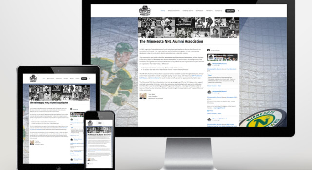 Minnesota NHL Alumni Website